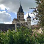 Bras sud du grand transept de l'abbatiale de Cluny